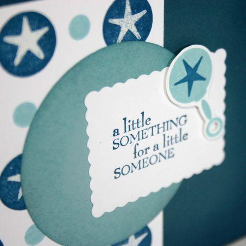 A Little Something Baby card detail - dana newsom