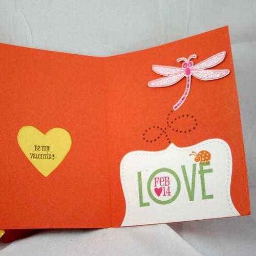 Bugs and Kisses card inside- dana newsom