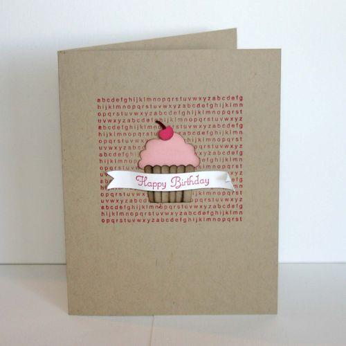 Happy Birthday Cupcake  - dana newsom
