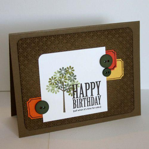 Happy Birthday Tree card 3- dana newsom