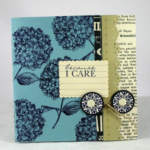 I Care card - dana newsom