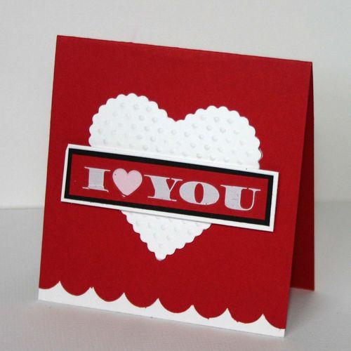 I love you card 2 - dana newsom