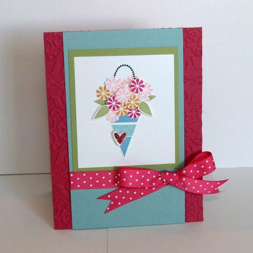 May Flower Card - dana newsom