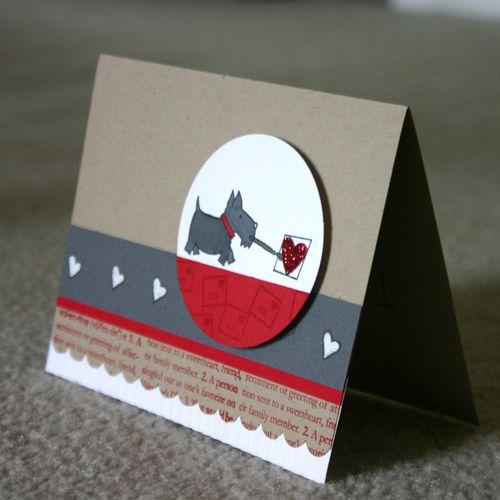 Painting love card - dana newsom