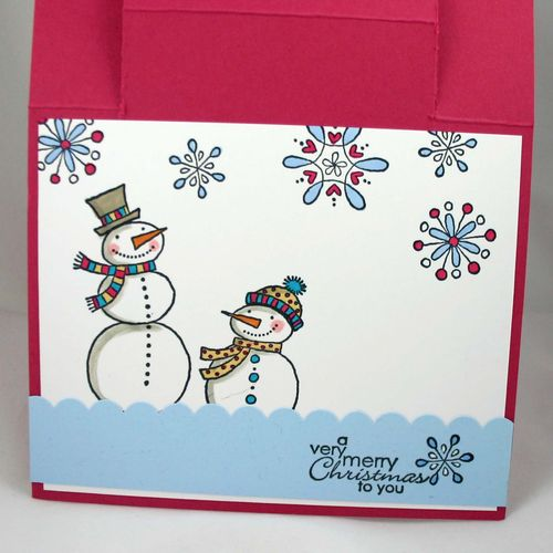 Some love to keep you warm card inside- dana newsom