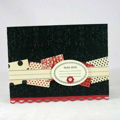 Take Note card - dana newsom