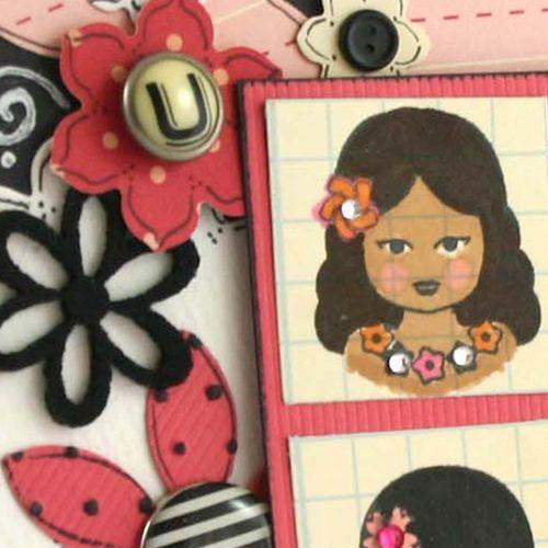 Beautiful card 4  detail by dana newsom