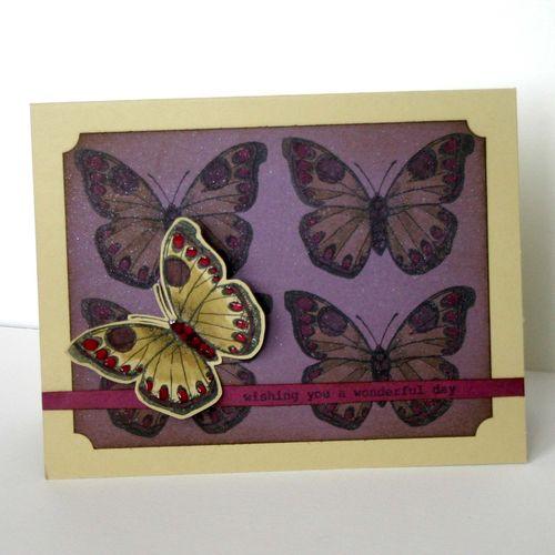 Butterfly wishes card 3- dana newsom