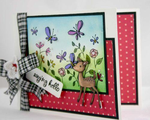 Hello dear card side by dana newsom