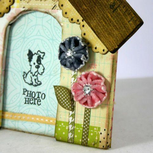 Shaggy chic dog house detail 3 - dana newsom