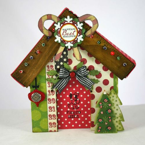 Xmas dog house 4 - dana newsom