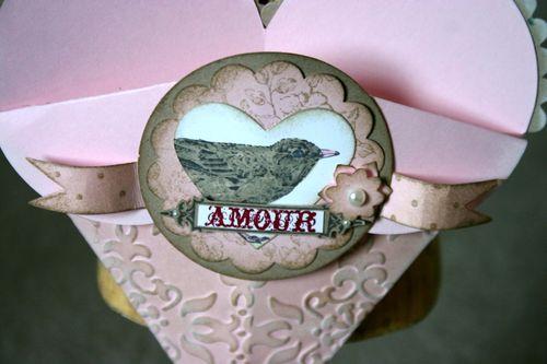 Amouri heart basket- dana newsom