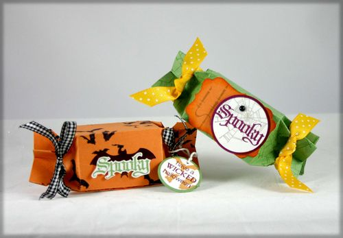 Halloween candy wrappers - dana newsom