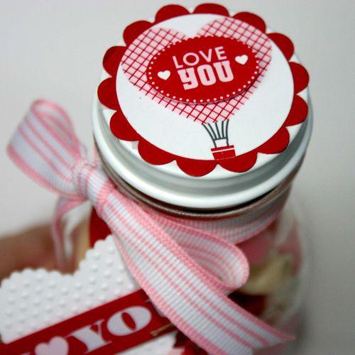 Love You Jar lid- dana newsom