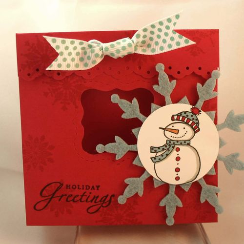 Snowing greetings bag 2- dana newsom