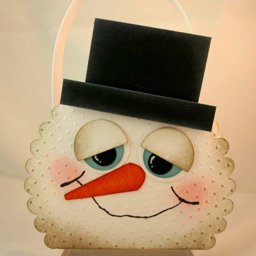 Snowman bag 2 - dana newsom