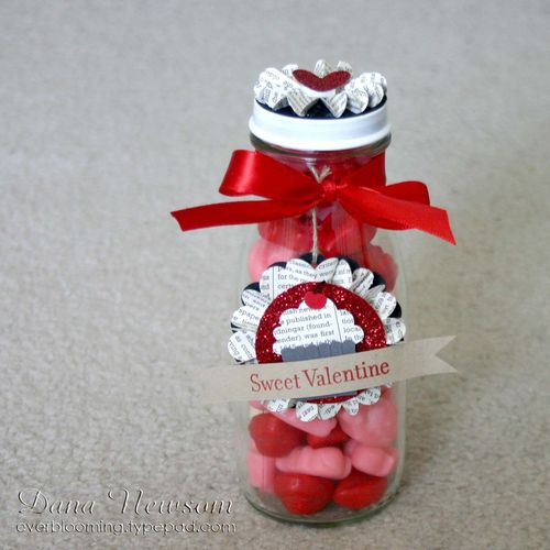 Sweet Valentine Jar 6- dana newsom
