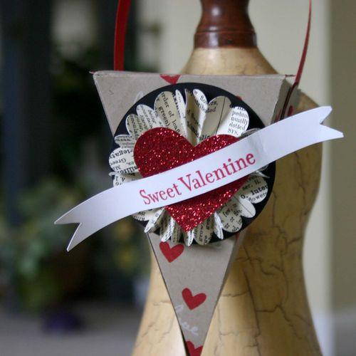 Sweet valentines cone - dana newsom