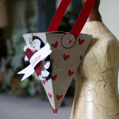 Valentines love cone - dana newsom